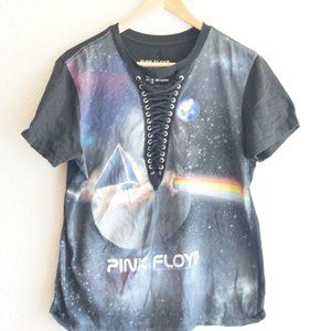 Pink Floyd Lace-Up Shirt